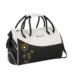 Badabulle Maternal Bowling - Bolso, color negro y blanco
