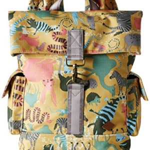 Oilily Oilily Backpack - Bolso de Material Sintético , color amarillo, talla 11.5x37x27 cm (B x H x T)