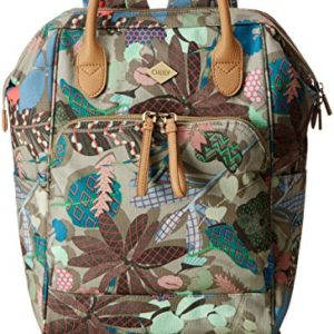 OililyOilily Backpack - Mochila Mujer , color verde, talla 11.5x40x27 cm (B x H x T)