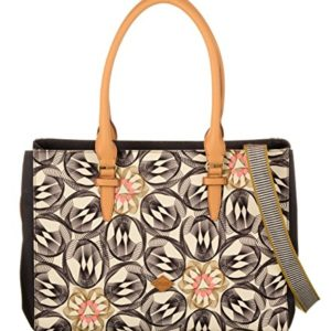 Oilily - Carry All, Shoppers y bolsos de hombro Mujer, Grau (Charcoal), 17x27x36 cm (B x H T)