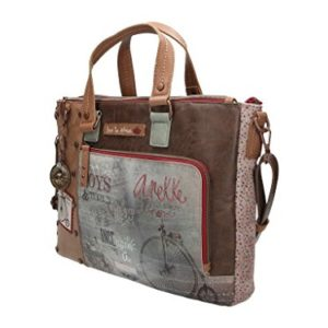 Bolso Portadocumentos ANEKKE Stories, 42 cm. Triple Cremallera
