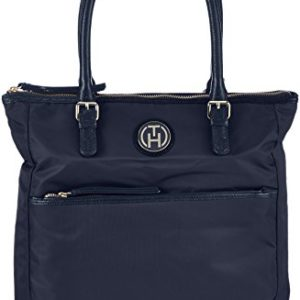 Tommy Hilfiger Chelsea N/S Tote - Bolso de tela para mujer azul midnight