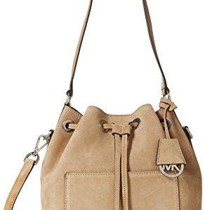 Michael Kors Greenwich Bolsa de Tela para la Playa, Color Shell