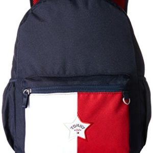 Tommy Hilfiger - Kids Unisex Colorblock Backpack M, Mochilas Niños, Blau (Corporate), 13x40x29 cm (B x H T)