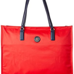 Tommy Hilfiger Poppy Sq Tote, Bolso Totes para Mujer, Varios Colores (Corporate Cb), 14x28x39 cm (W x H x L)