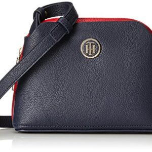 Tommy Hilfiger - Th Core Crossover, Shoppers y bolsos de hombro Mujer, Azul (Core Cb), 18x8x20 cm (B x H T)