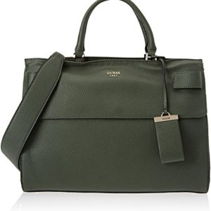Guess HWVG6781070, Bolso de Mano Mujer, Verde (Forest), 13x22.5x28.5 cm