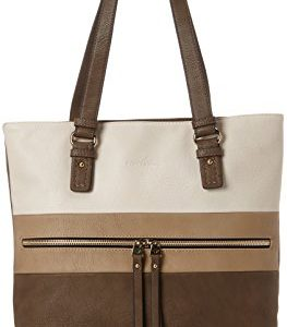 Tom Tailor Acc Marit Mujer Bolsos totes Beige (Taupe) 10x32x37 cm (B x H x T)